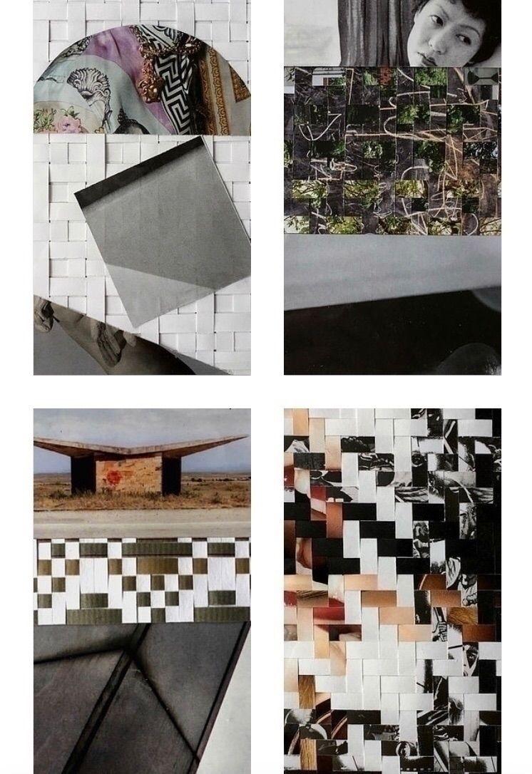 designsbyanon, weaving, paperweave - designsbyanon | ello