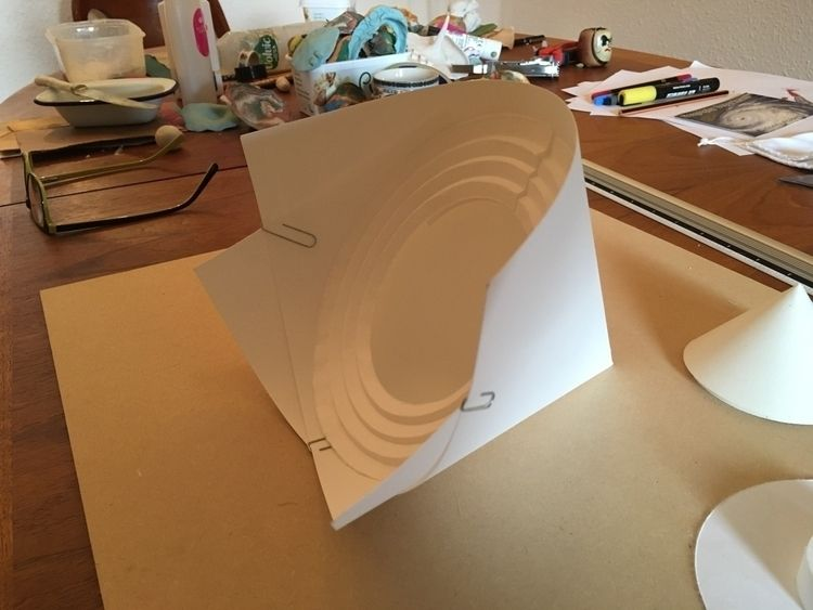 bit excited - papercraft, paperengineering - gregsted | ello