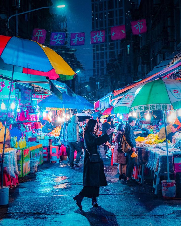 Nightscapes Victor Chiang - Neon, - photogrist | ello