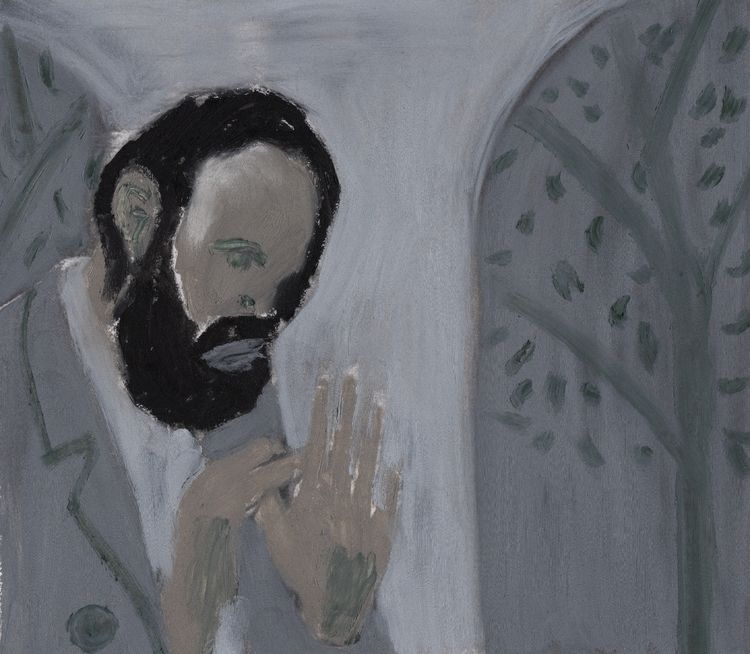 Monastic living (2018), Oil pap - jjball | ello