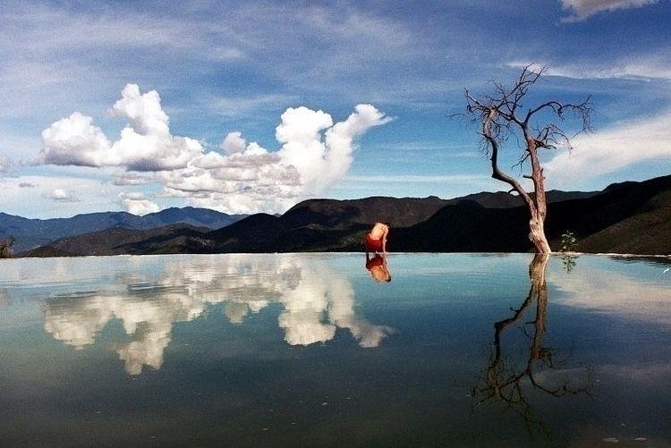 Hierve el Agua . Mexico, Oaxaca - bresc | ello