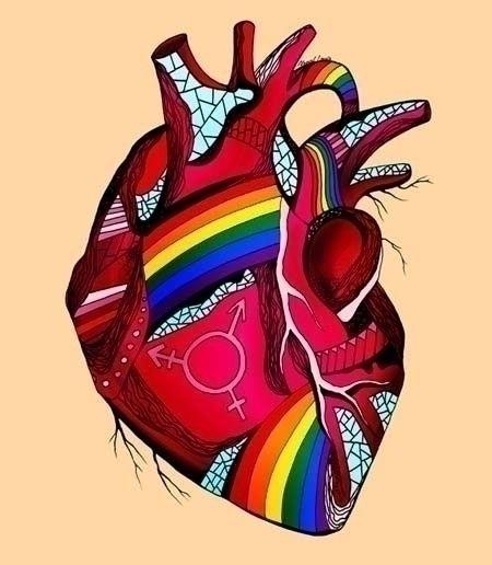 Pride Heart Illustration part o - kenallouis | ello