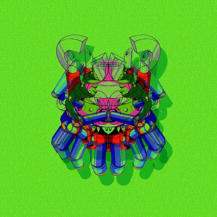 Kraken-:space_invader::zap:️  - contemporaryart - andrew_indelicato | ello