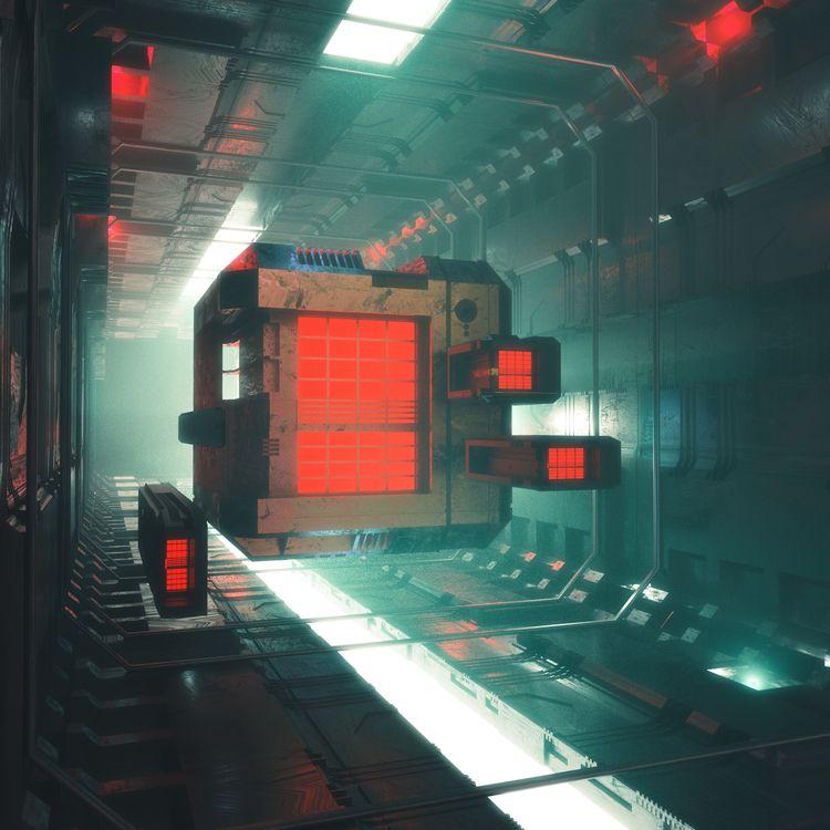 BOXX 0000 - 3d, c4d, cinema4d, scifi - hxg | ello