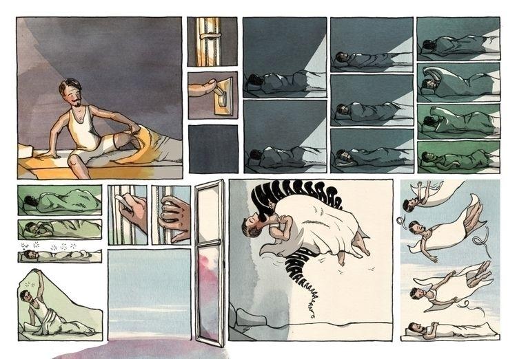Fresh Air - comic, illustration - paulgoetze | ello