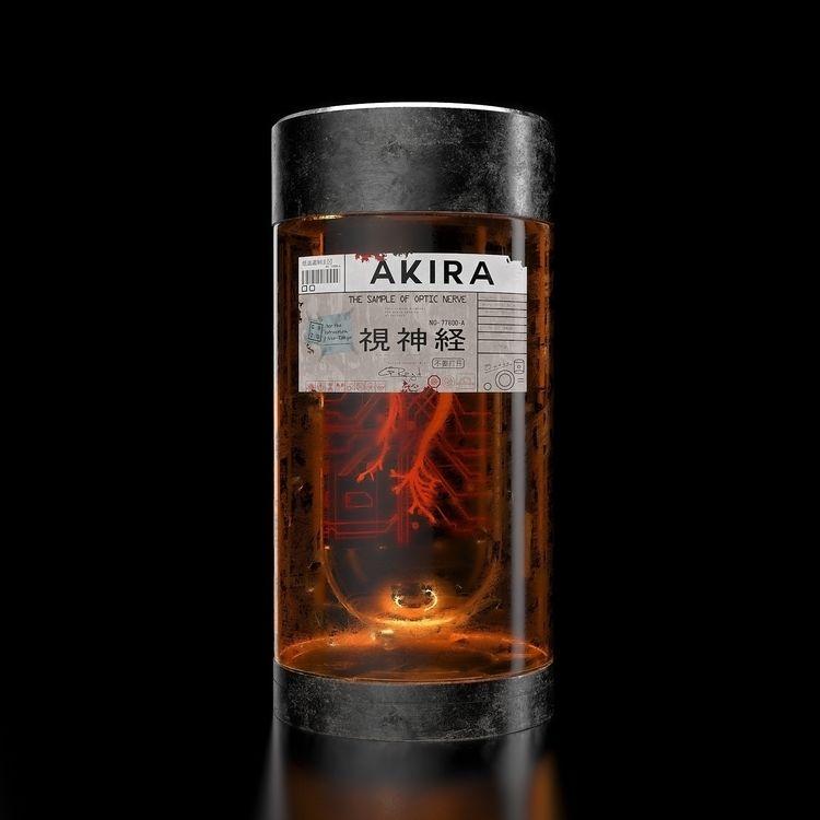 Akira - Optic nerve Jar - akira - grazdgfx | ello