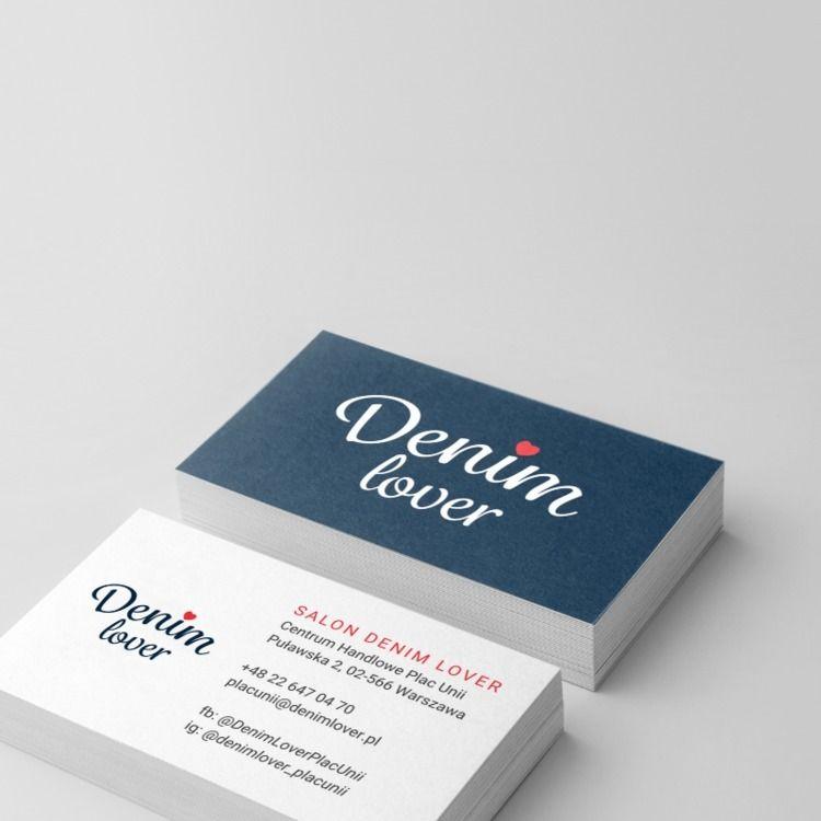 Denim Lover business card. Prem - pmjm | ello