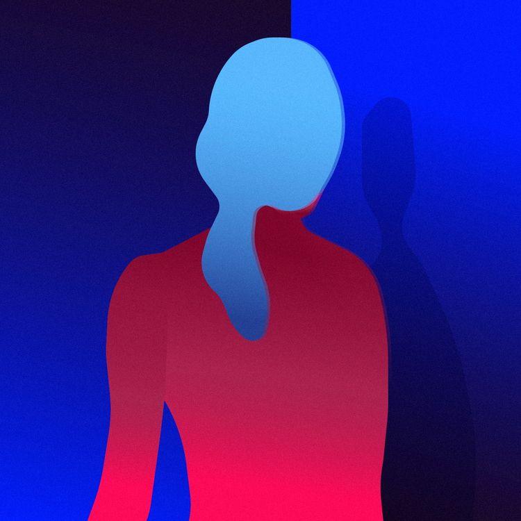Face shadow, face - illustration - jonanderisnestas | ello