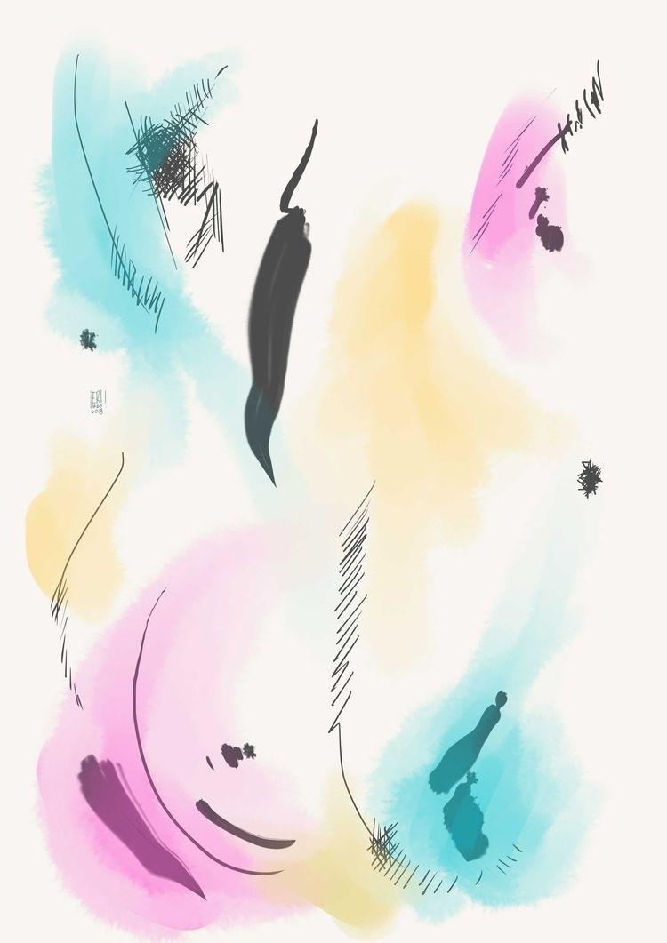 Abstract Sunrise 4 - elloart, elloabstract - erisado | ello