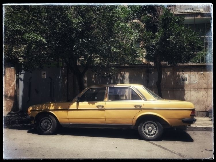 Yellow car - photography, photographer - farangises | ello