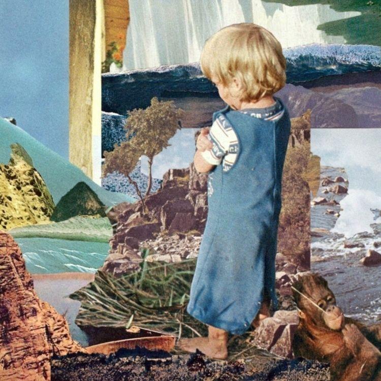 summer vacation 02 - collage, lofi - tylasno | ello