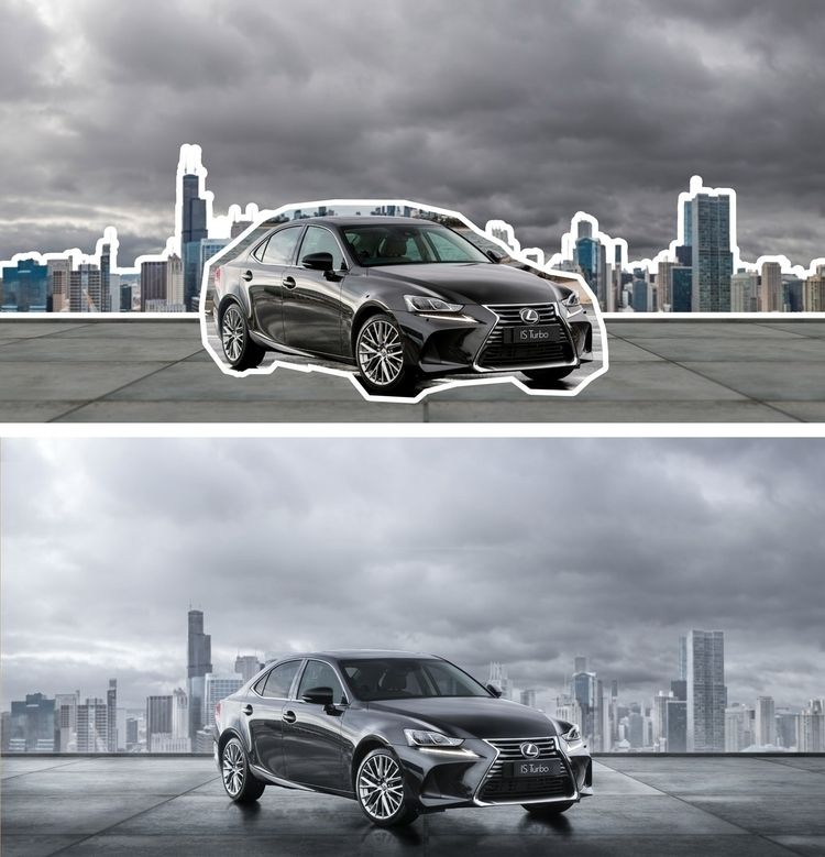 Lexus | CGI Retouching Behance - mateuskria | ello