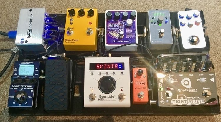 Current Ver. pedal board. 6/18 - bobhopkins | ello