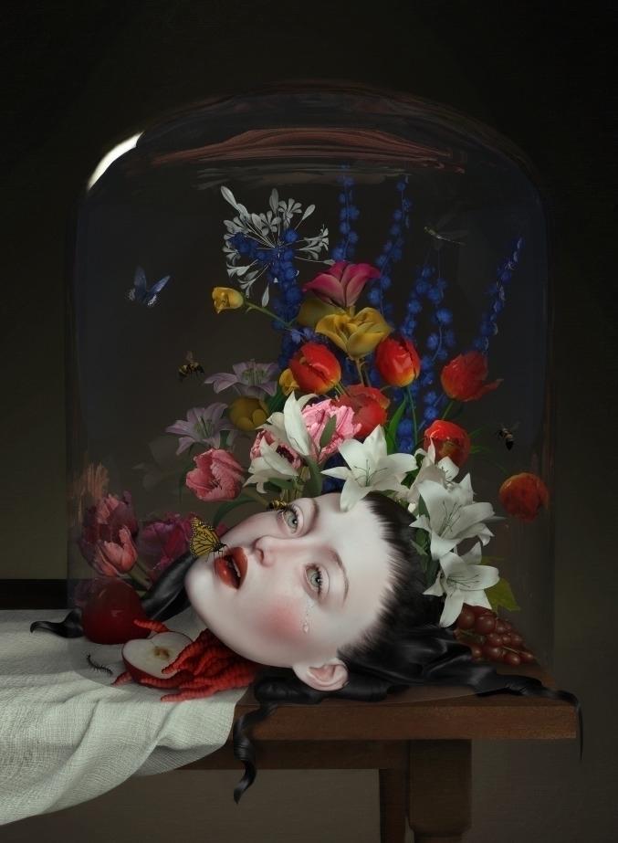 Life - digitalart, popsurrealism - nathaliasuellen | ello