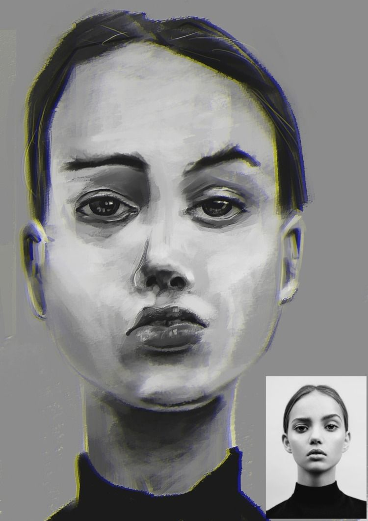 InkaWilliams - model, drawportrait - vjblind | ello
