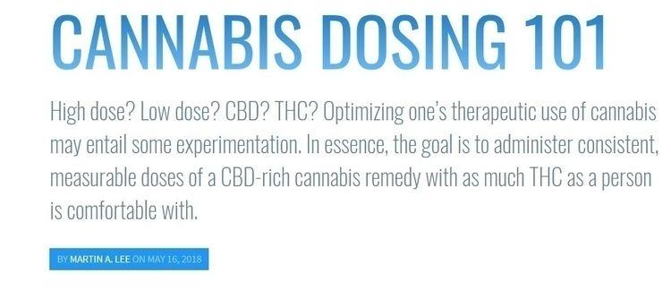 Highlights: Cannabis effective  - ellocannabis | ello