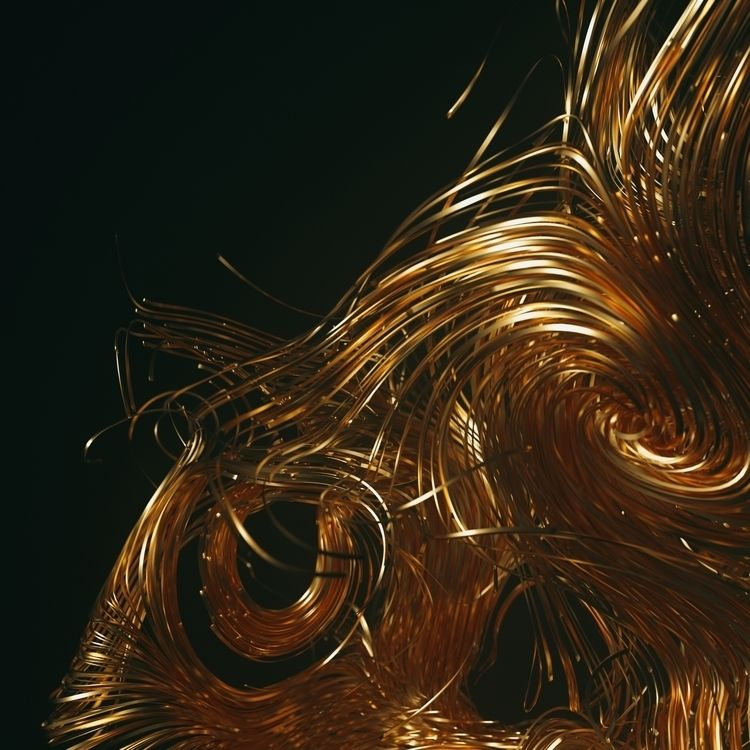 NU_GOLD - CG, design, cinema4d, everyday - grazdgfx | ello