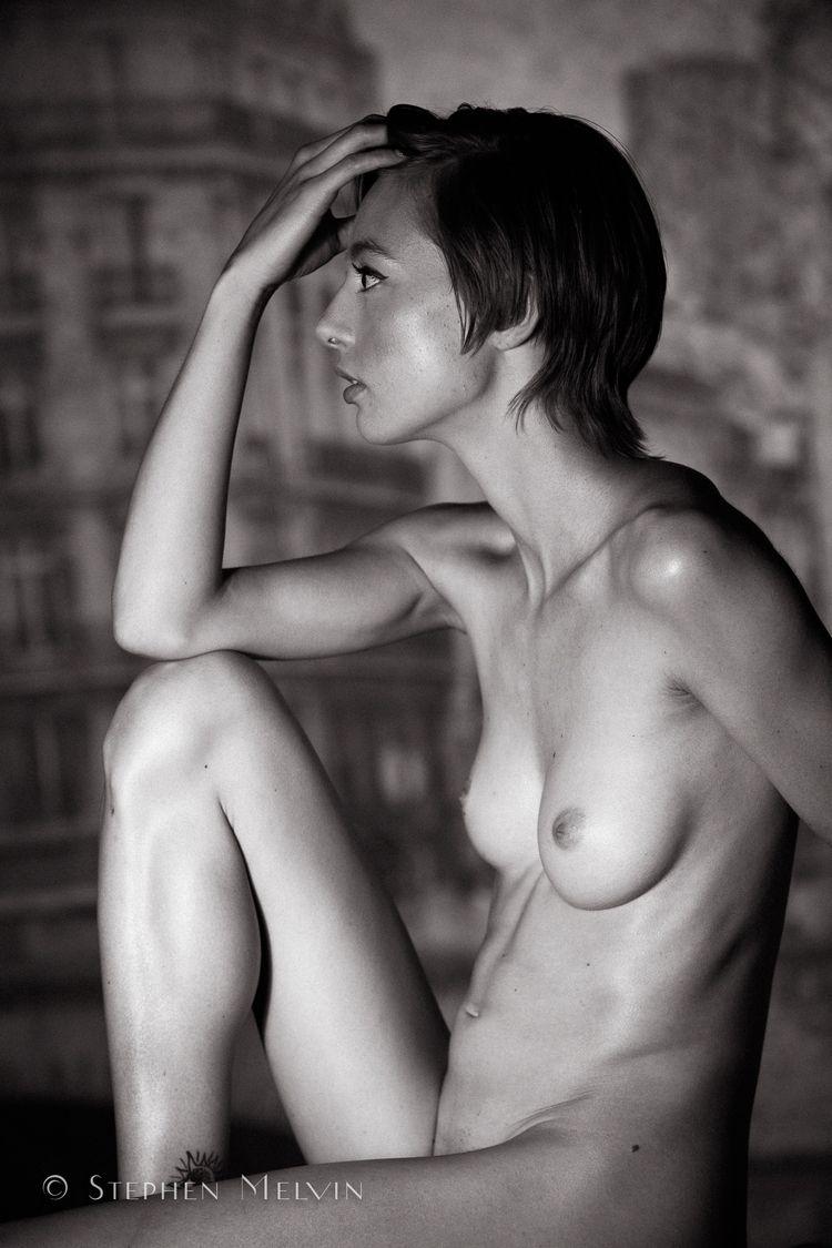 nsfw, bw, nude, art, profile - stephen_melvin | ello