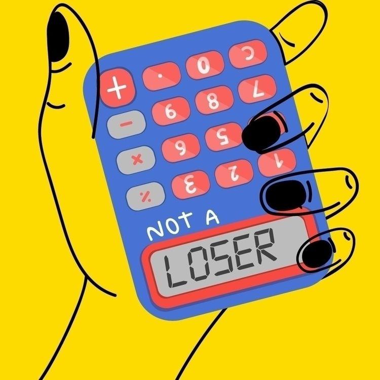 loser - Illustration - adrianaduque | ello