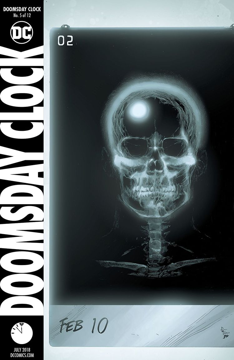 Doomsday Clock Review Watchmen - comicbuzz | ello