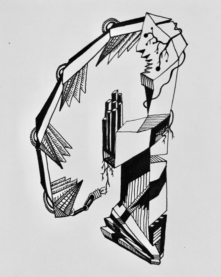 illustrate, illustration, drawing - kaok99   ello