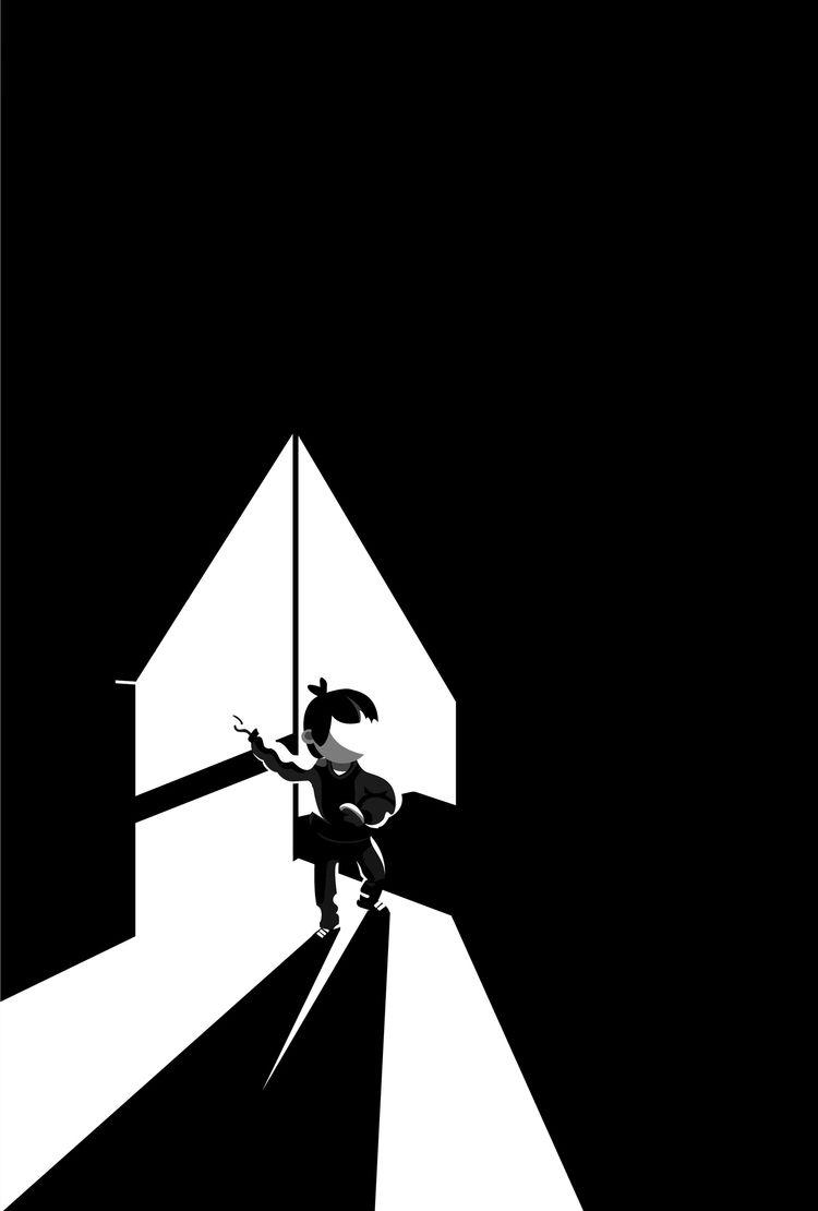 Darkness Pietro Braga Instagram - laharmagazine | ello
