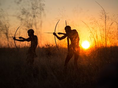 | San Portrait hunters tribe - africa - aga_szydlik | ello