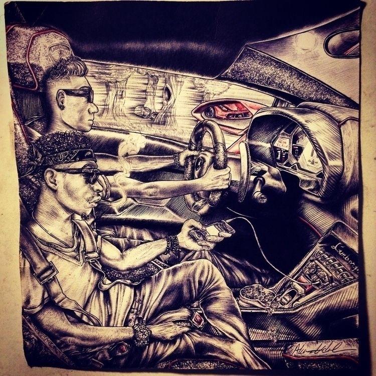 Ride wit big gun lil dude - akanartist | ello