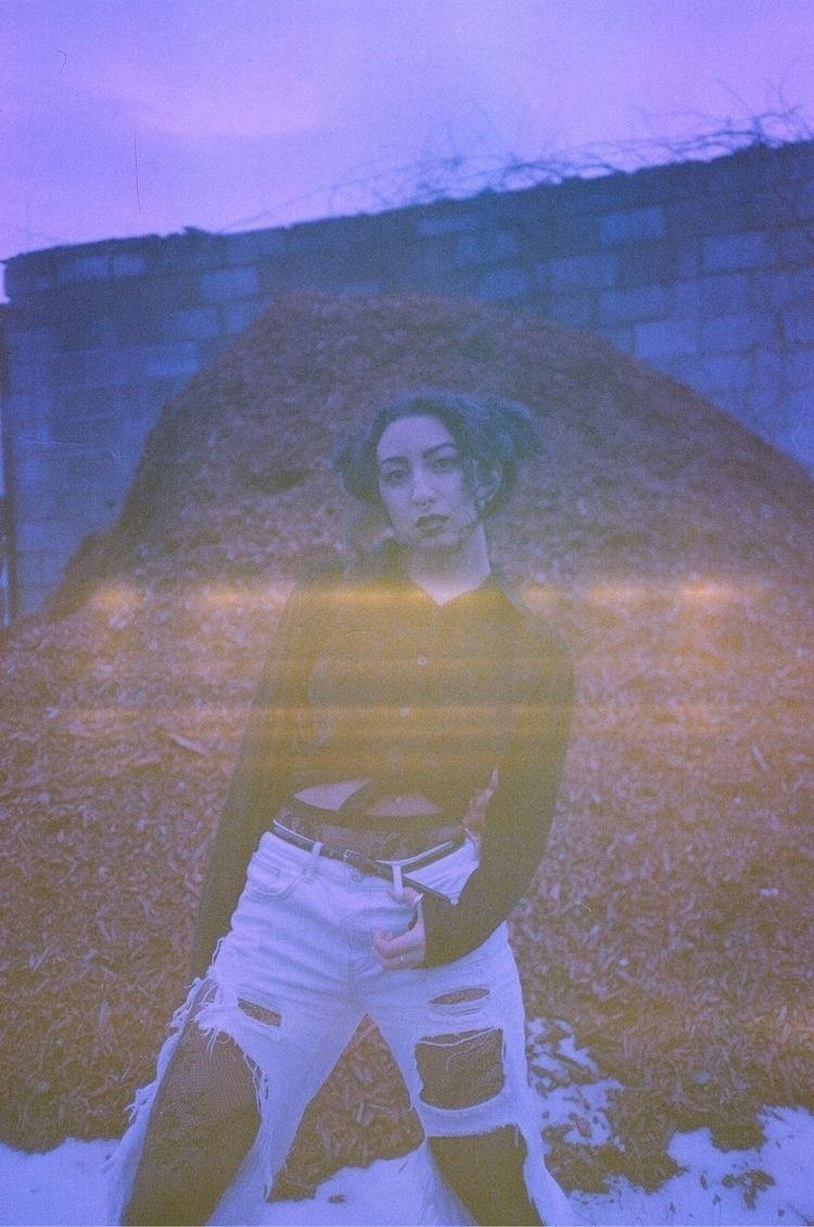 Mia expired Kodak Gold 200 - fashionphotography - ncsweet | ello