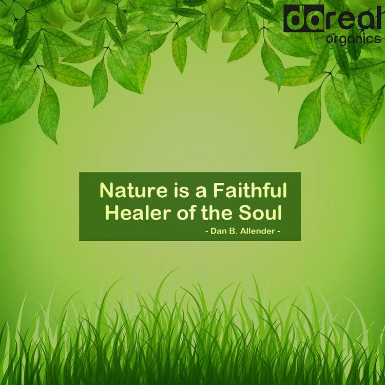 Nature Faithful Healer Soul nat - darealorganics   ello