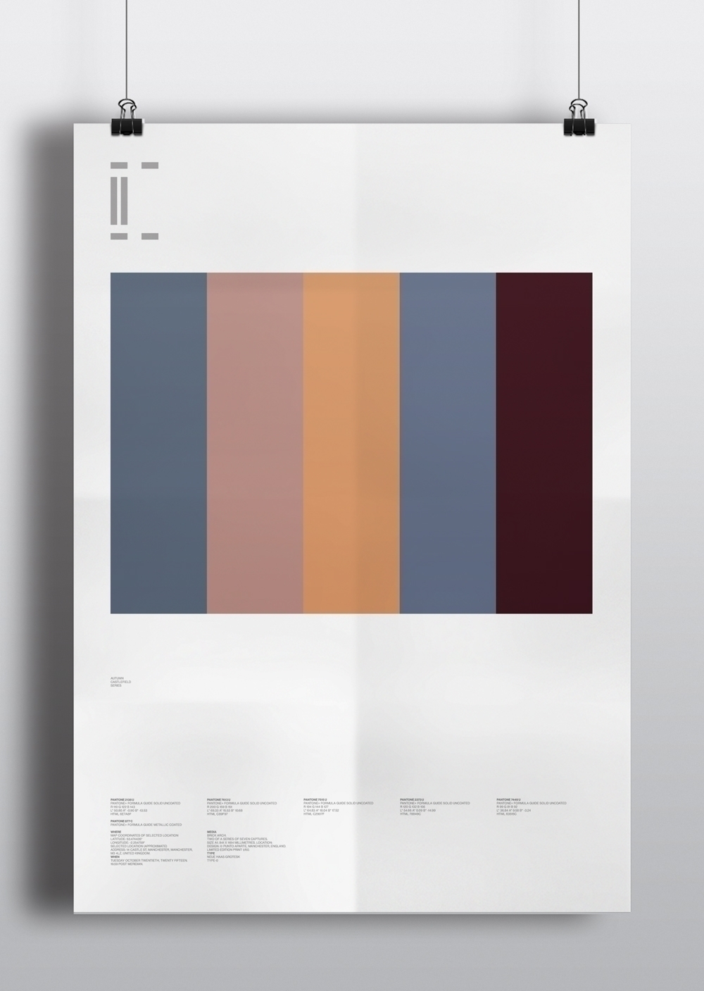 Castlefield Colour Studies Wint - puntoaparte | ello
