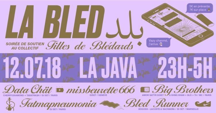 LA BLED Facebook cover pour Les - molonom | ello