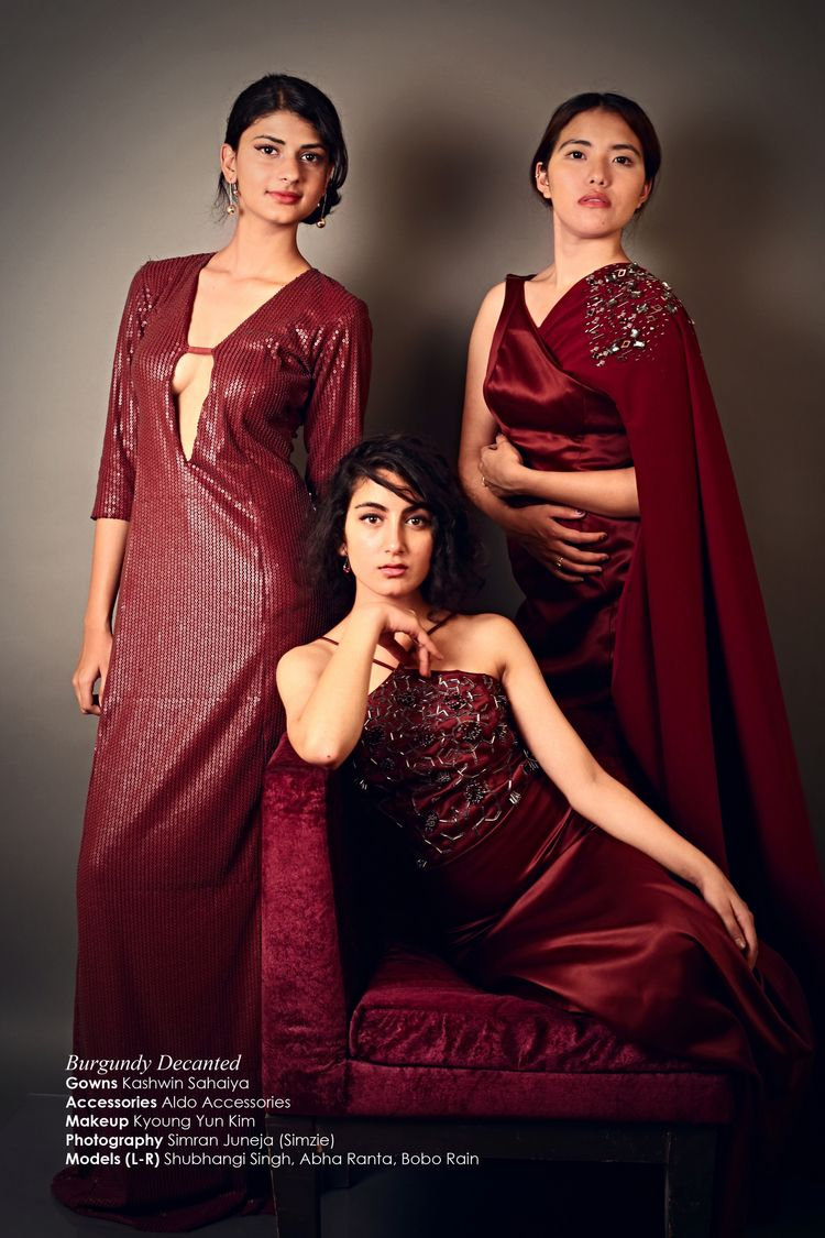 Showstopper garment wine inspir - kashwinsahaiya | ello