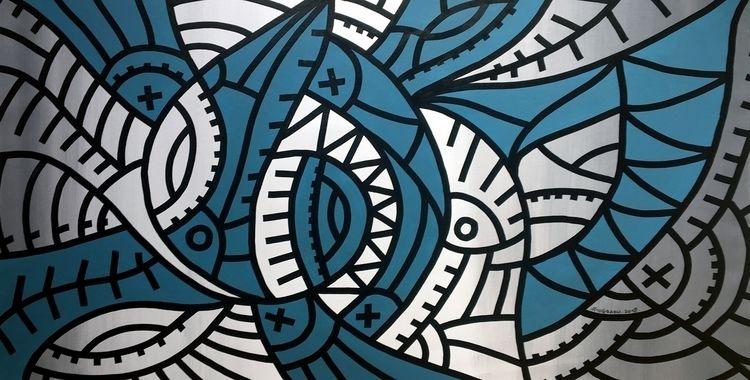 ottograph painting - bingo acry - ottograph   ello