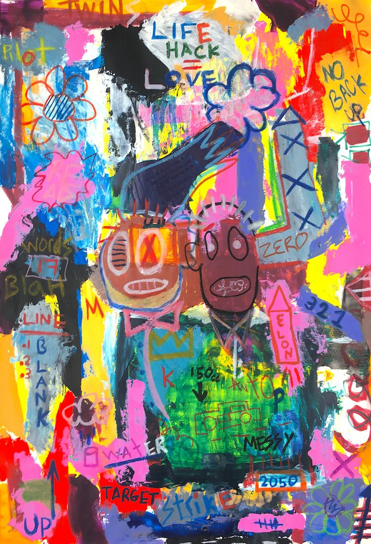 ART ID DIRTY Submitted Ello Art - alexleereagan | ello