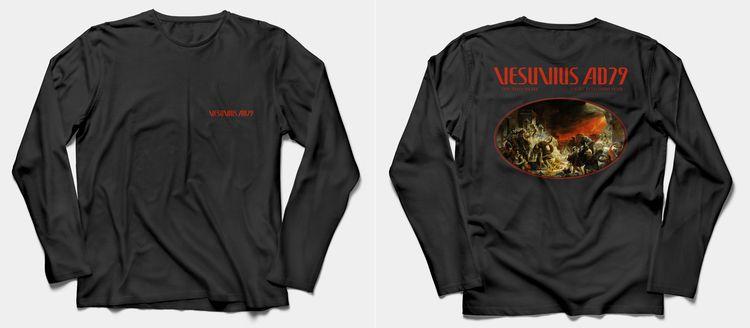 Vesuvius AD79 Long sleeve, Init - lxcalghost | ello