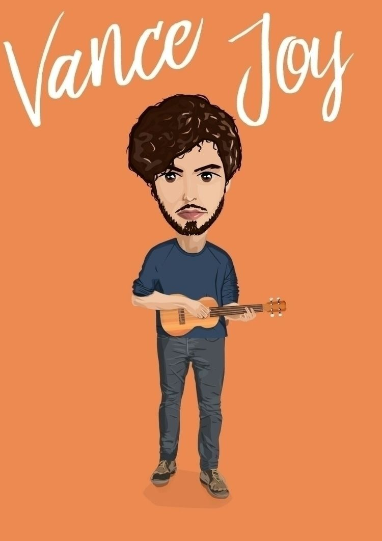 post supposed cartoon-ish Vance - brinaboyle | ello