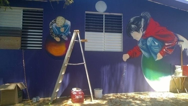 creators. Wall Puerto Rico - sherezadee | ello