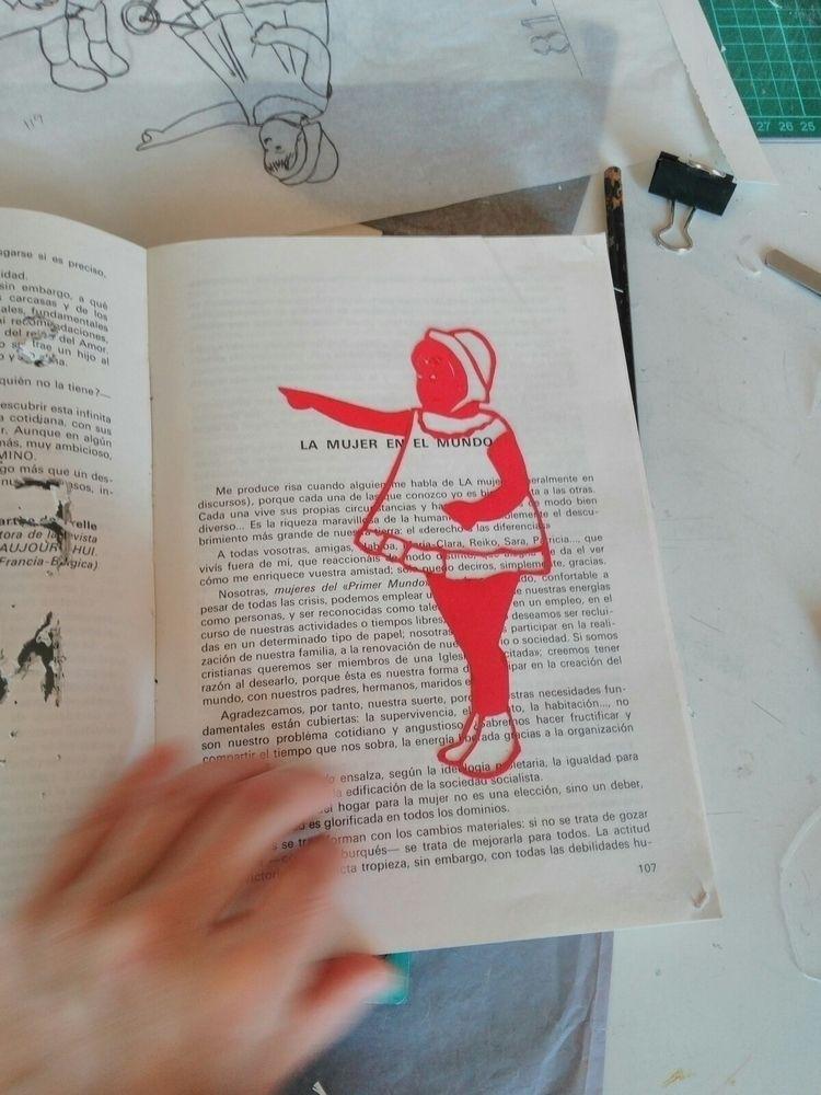 Artist book progress - paper, artistbook - hauering | ello