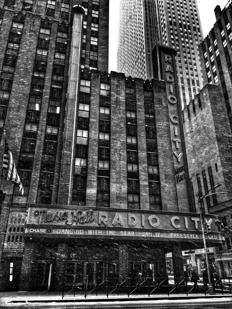 Radio City, NY - radio, radiocity - renspacemadness | ello