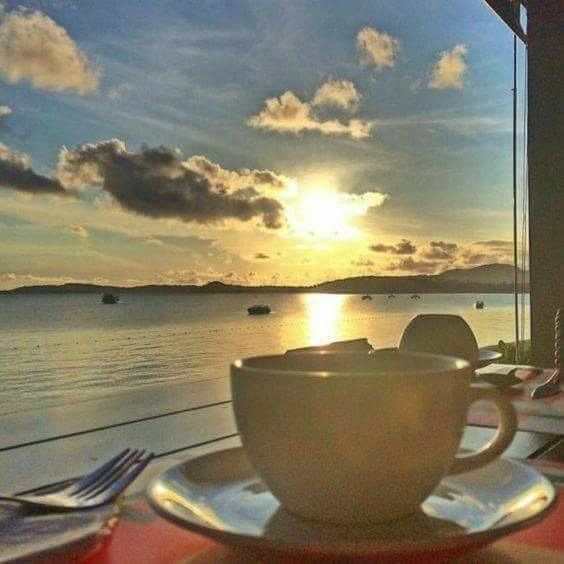 Good morning....coffee beach - lolosbri | ello