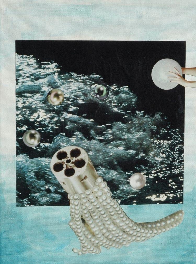 collage, paper canvas, Bep Broo - bepbroos   ello
