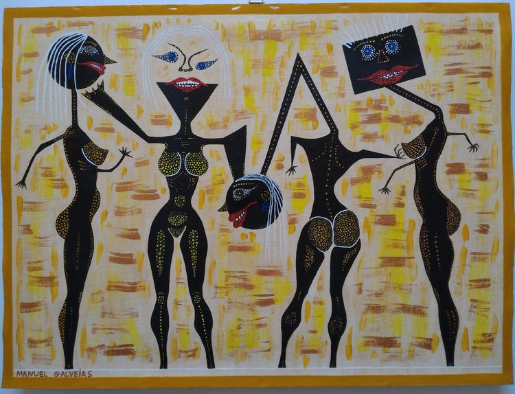 60x45cm Acrylic canvas Manuel G - galveias | ello