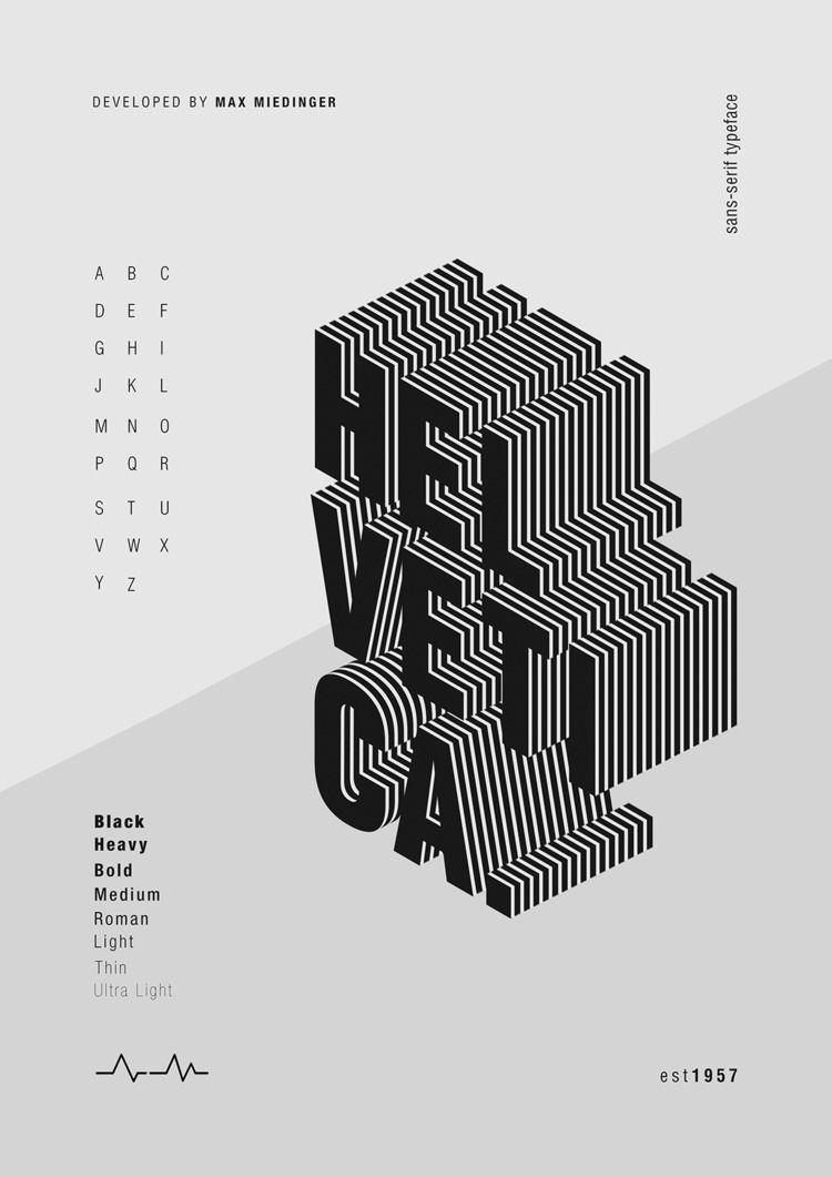 Poster design Helvetica font - am_arts | ello