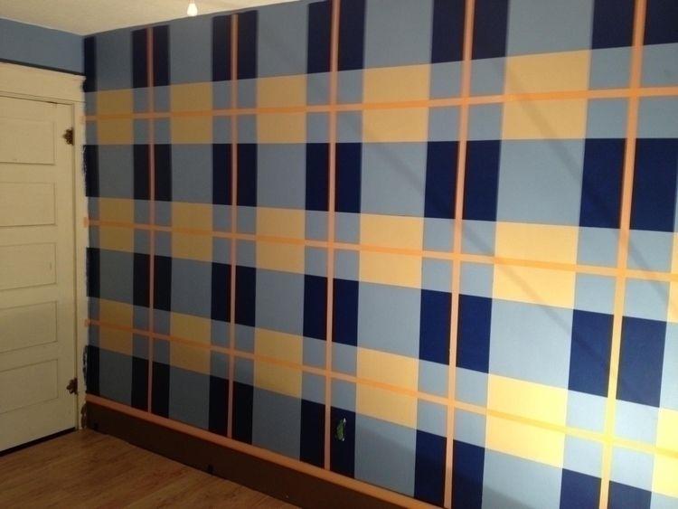 years - plaid, paint, wall, art - fatzac | ello