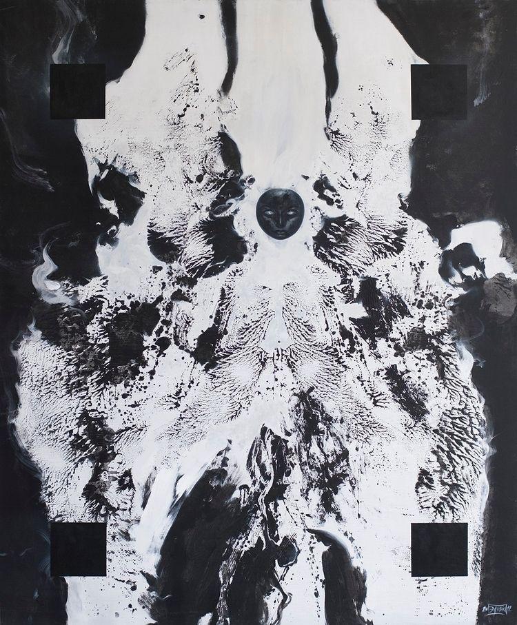 Seraf , (2012) acrylic canvas O - edgarinvoker | ello