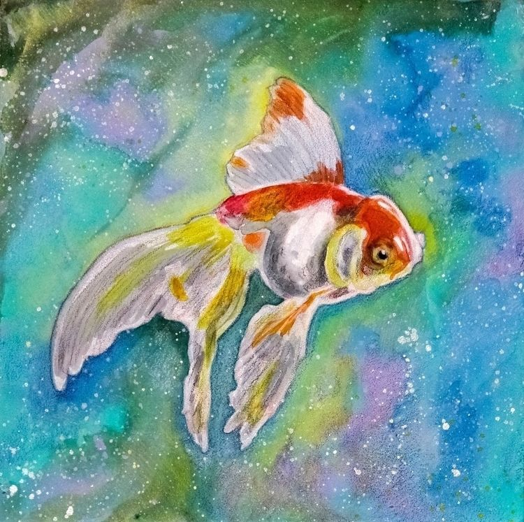 Goldfish (12 12 1 -- mixed medi - micksylvestre | ello