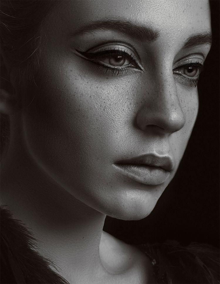 "Crow"" — Photographer/Model: Líd - darkbeautymag   ello"