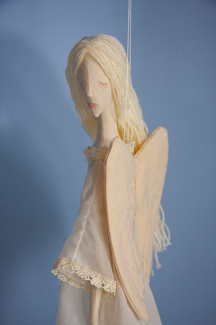 Bright Angel Textile Doll - artdoll - graziasz | ello
