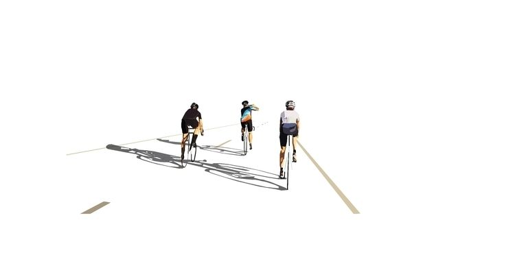 Fixed Gear ride Friends Part 1 - sophieillustration | ello